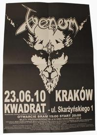 venom black metal krakow poster 2010