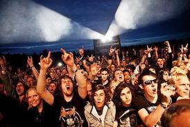 Venom rockweekend festival 2010 sweden