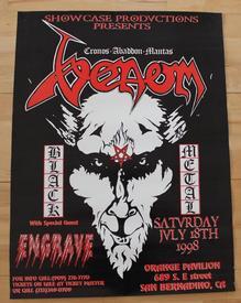 venom 1998 usa poster