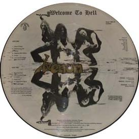 venom picture disc welcome to hell
