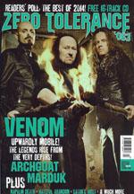 venom black metal zero tolerance magazine january 2015