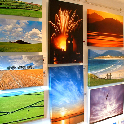 Scottish landscape photography Scotland canvas prints