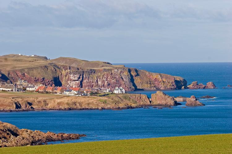 A fabulous sunny day on the Berwickshire coast New photo of St Abbs