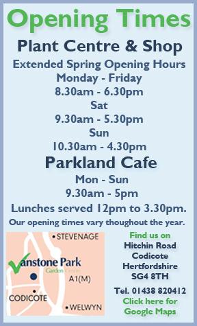 vanstone park garden centre codicote hertfordshire