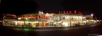 The new Tiran shopping Mall