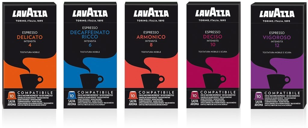 Lavazza Nespresso Coffee Capsules Compatible