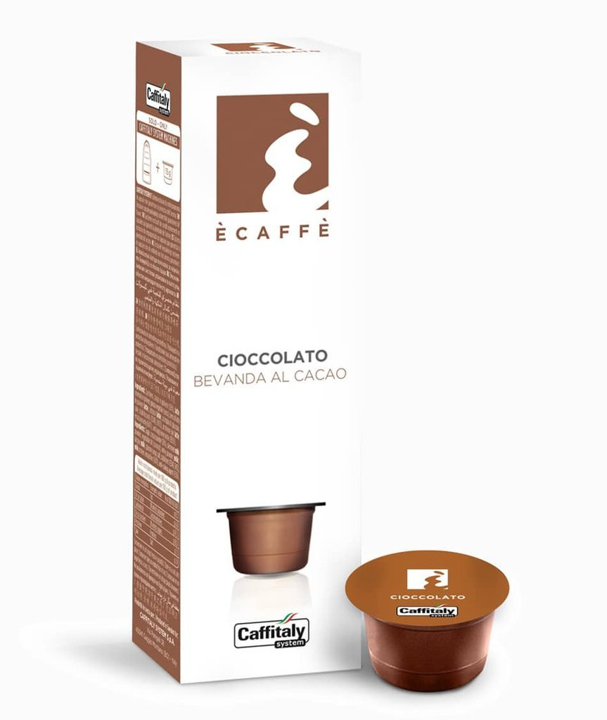 CAFFITALY ECAFFE HOT CHOCOLATE CAPSULES -100 CAPSULES- FREE UK DELIVERY