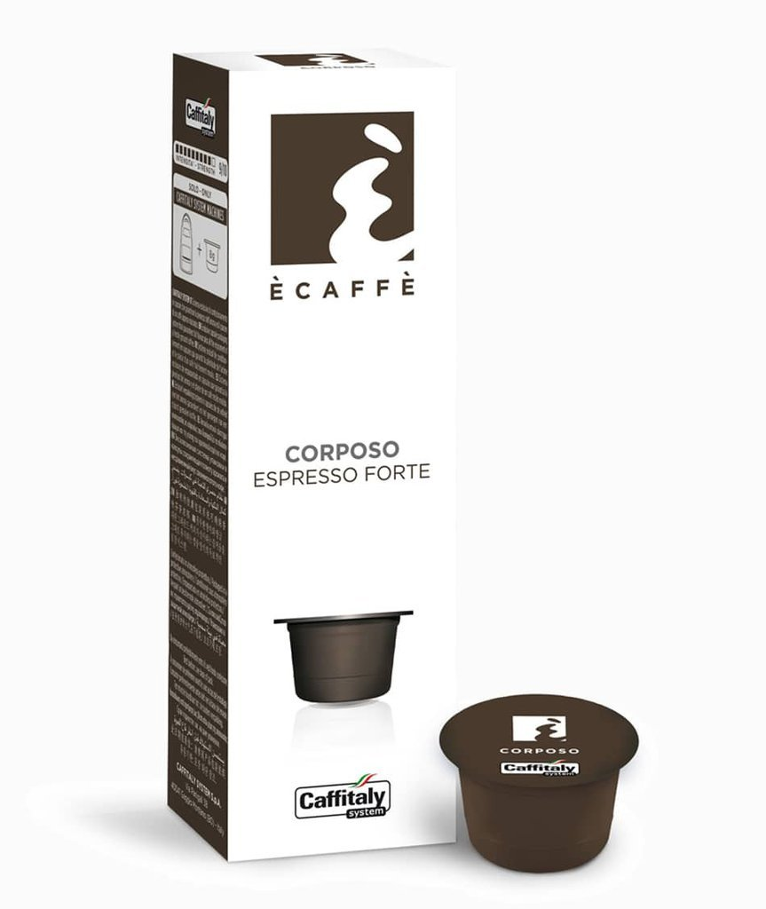 CAFFITALY ECAFFE CORPOSO COFFEE CAPSULES -100 CAPSULES- FREE UK DELIVERY