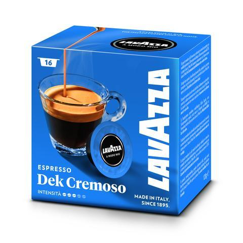 Lavazza A Modo Mio Dek Cremoso -160 capsules- FREE UK DELIVERY