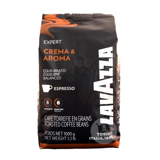 LAVAZZA Crema Aroma Coffee Beans 1Kg bag