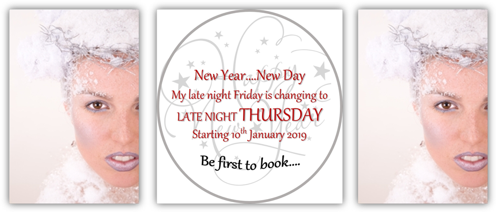 Late Night Thursdays in 2019 Late Night Friday has now changed to LATE NIGHT THURSDAY. Book NOW