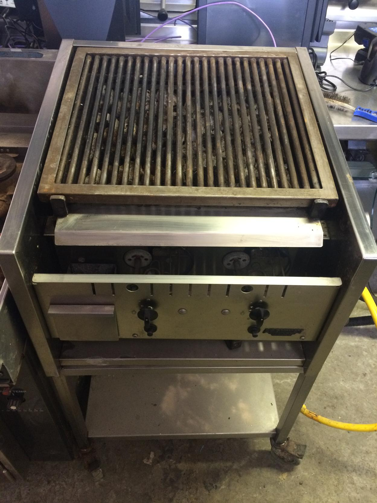 Archway 2 burner gas chargrill