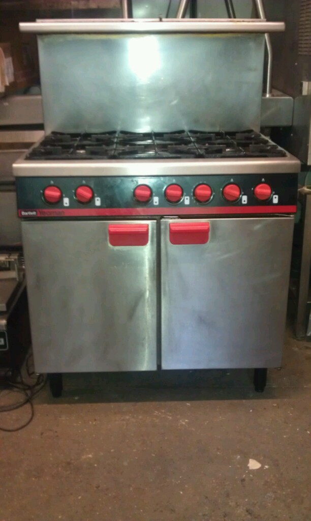 Bartleet Yeoman 6 burner gas cooker