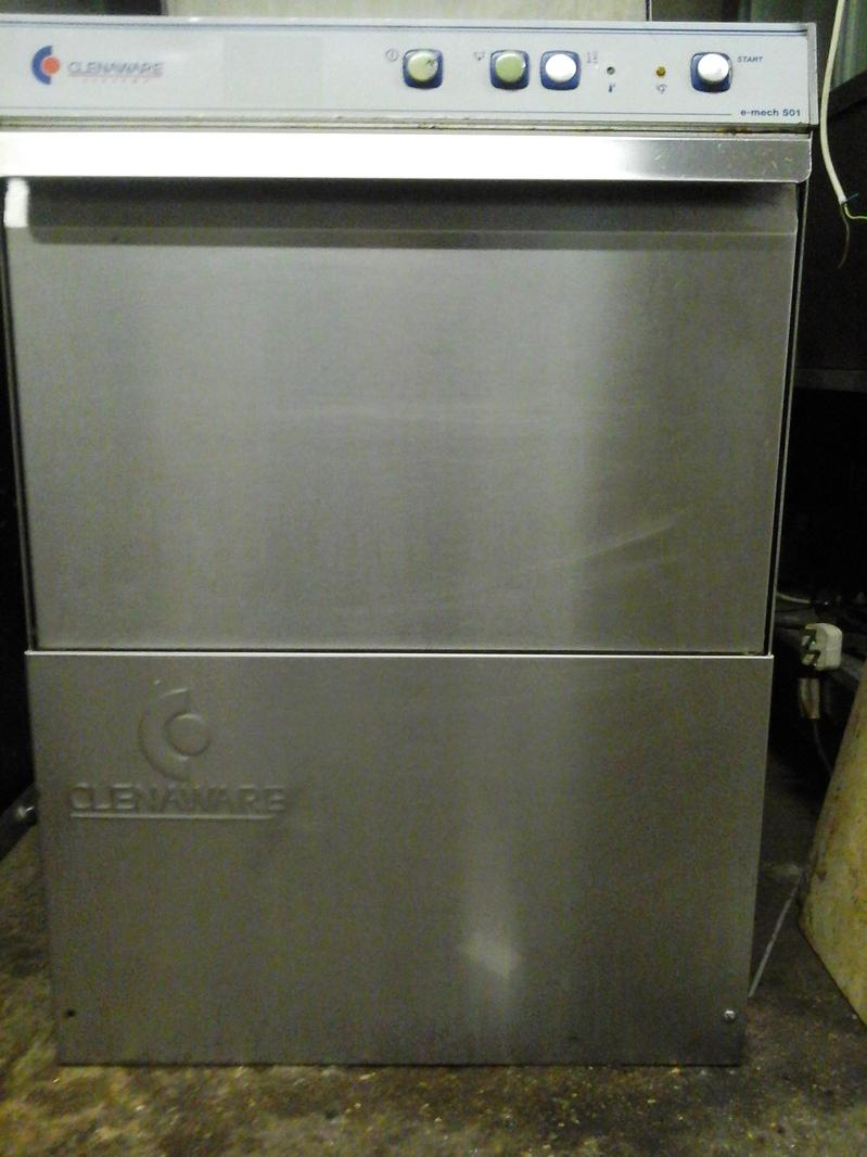 Clenaware E Mech 501D glass washer