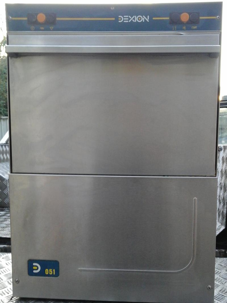 Dexion LP051 front loading dishwasher