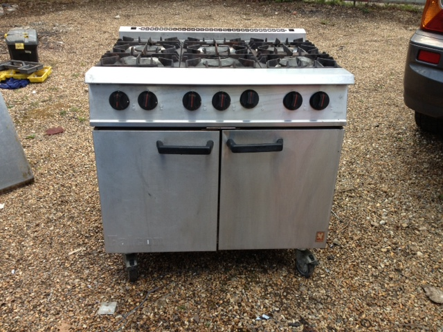 Falcon G2101 Dominator gas cooker