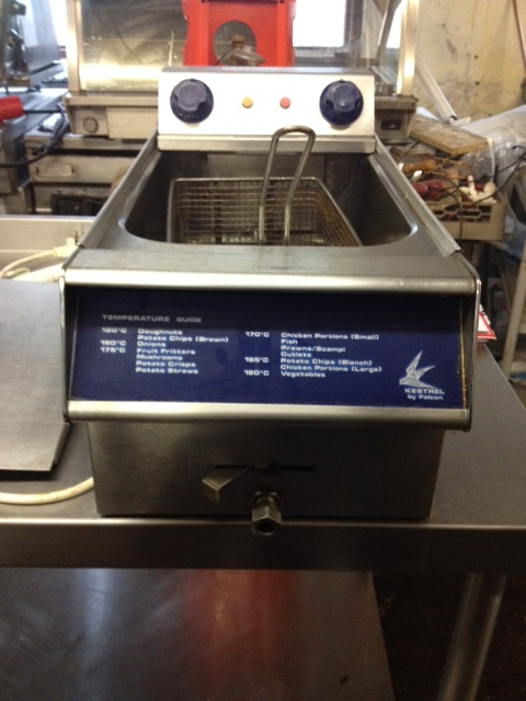Falcon Kestral electric single tank fryer