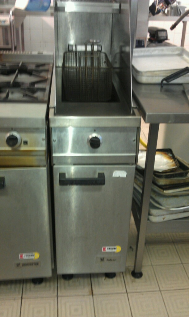 Falcon G1830 single tank gas fryer