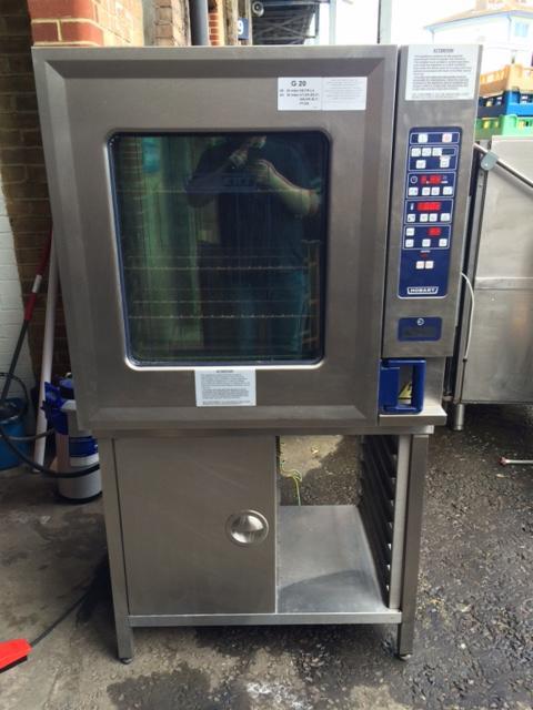 Hobart CSD 10 grid gas combi oven