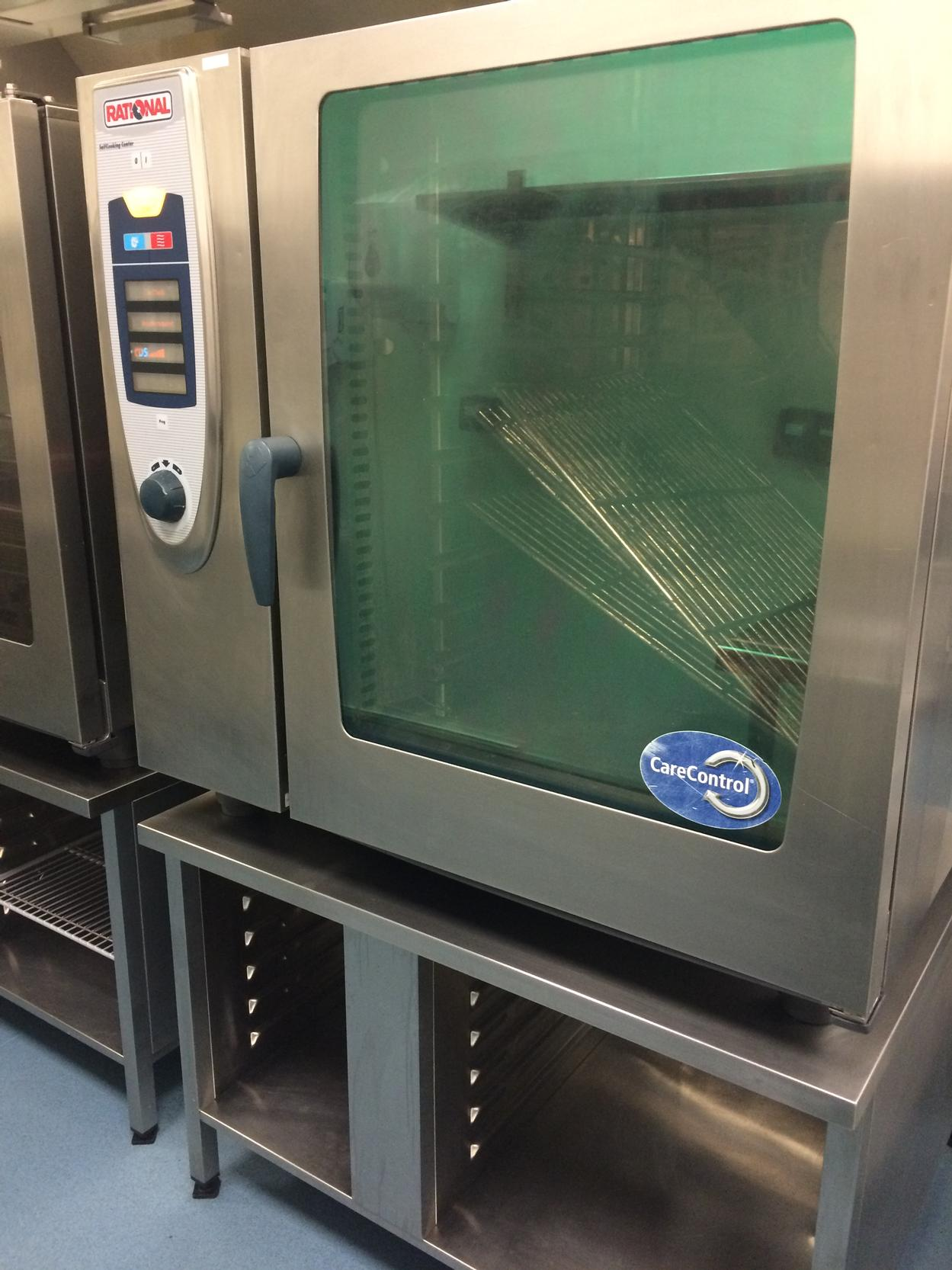 Rational SCC102 electric combi oven