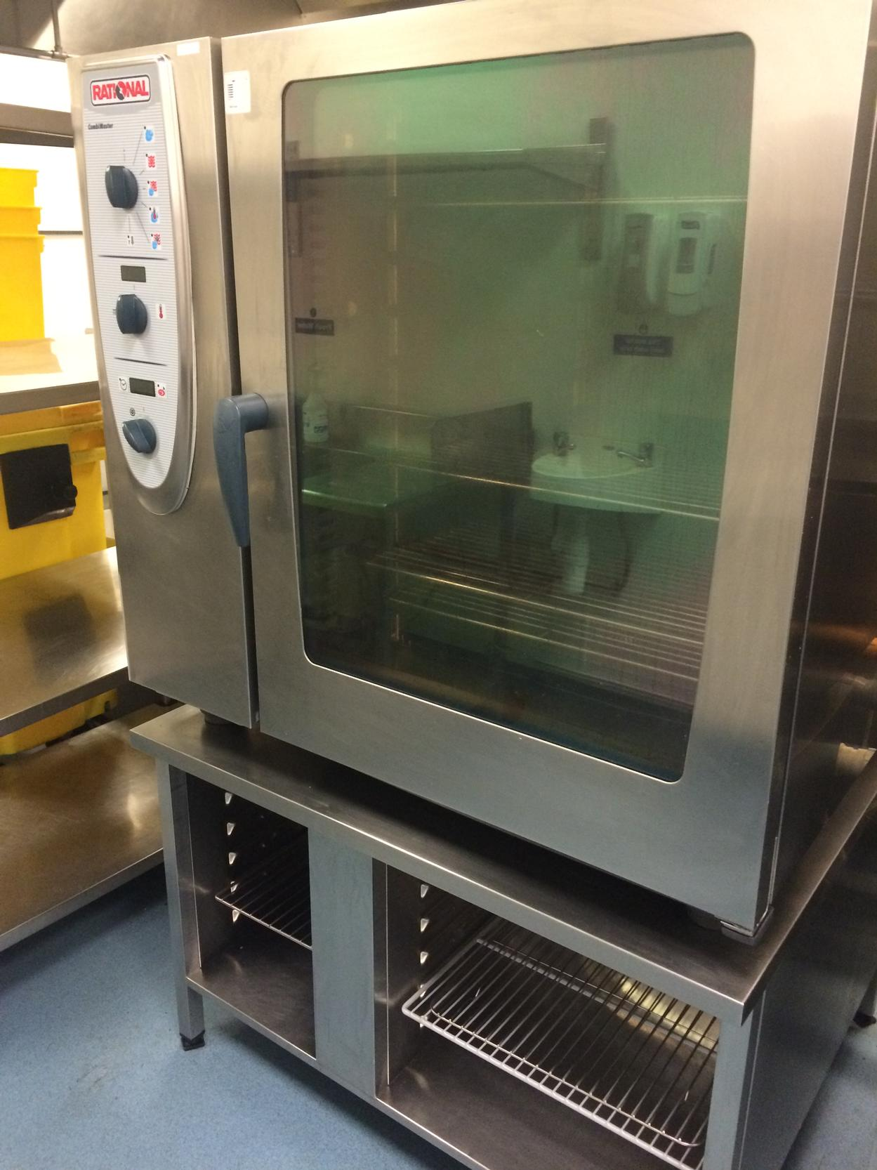 Rational CM102 electric combi oven