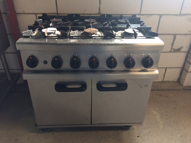 Lincat Opus OG7002 6 burner gas cooker
