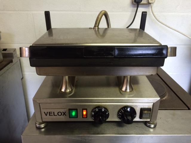 Silesia Velox contact grill