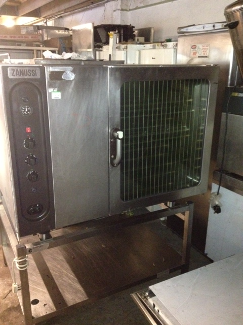 Zanussi gas convection oven