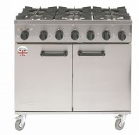 New Burco Titan 6 burner gas cooker