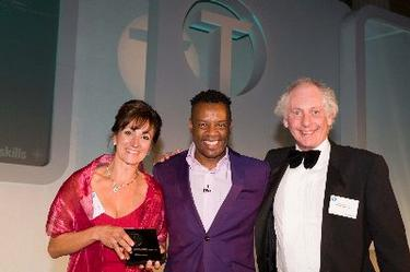 Clare Concannen Receives NTA Award, Harrow