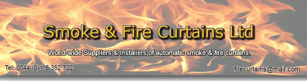 Automatic Smoke & Fire Curtains