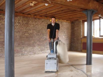 Exquisite dust free floor sanding services in Hertford