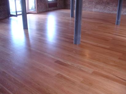 Beautifully renovated oak floor with Osmo hardwax Oil in London's fashionable London Eye area.