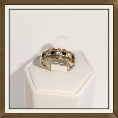 Antique Eternity Rings