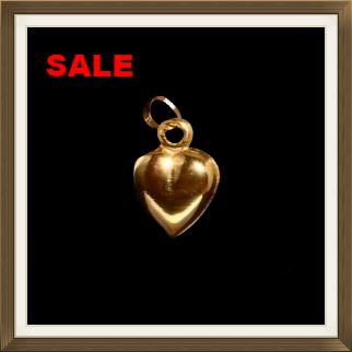 9ct Gold Polished Heart Pendant