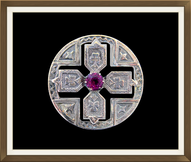 Irish Art Deco Brooch