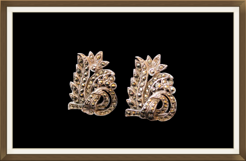 Antique Dress Clips