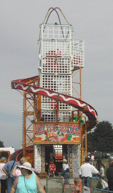 carousels roundabouts mega-slides fetes