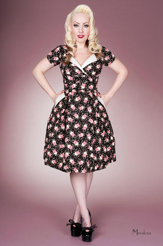 classic vintage dress