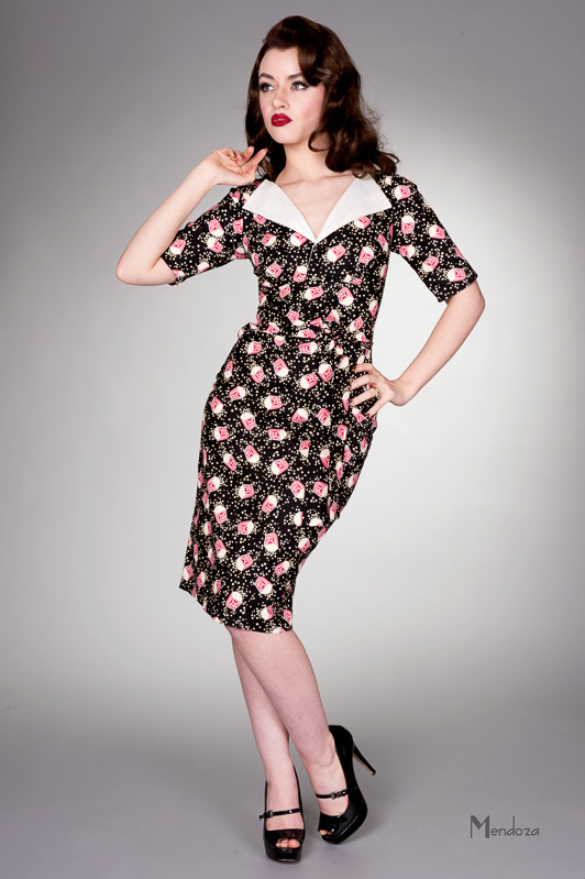 revere Pencil Vintage style dress