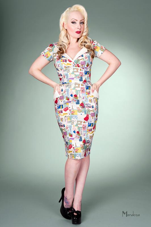 revere Pencil Vintage style dress