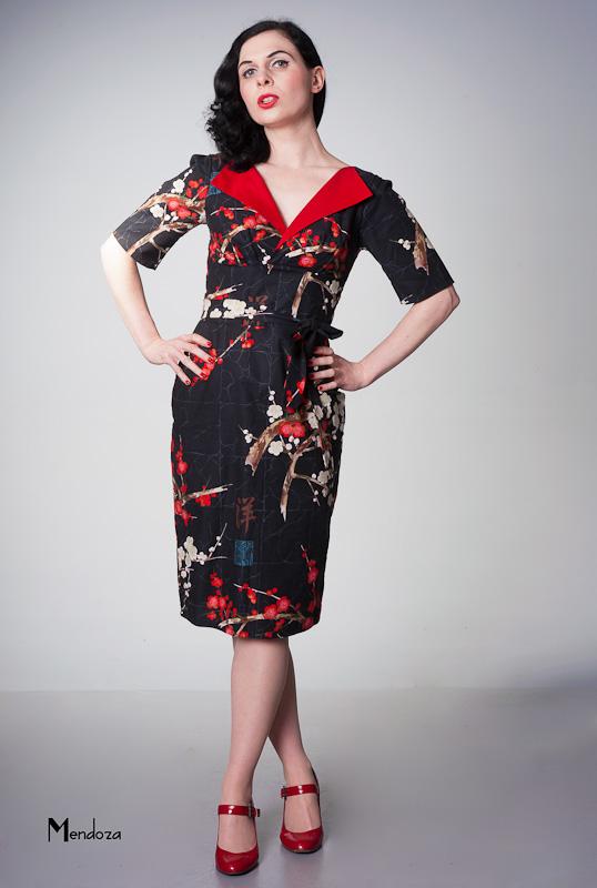 vintage occasional dress