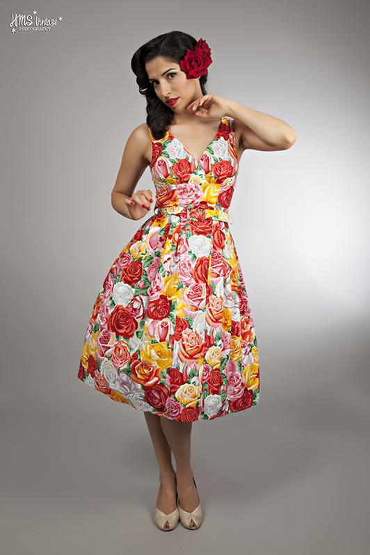 classic vintage rockabilly retro dress