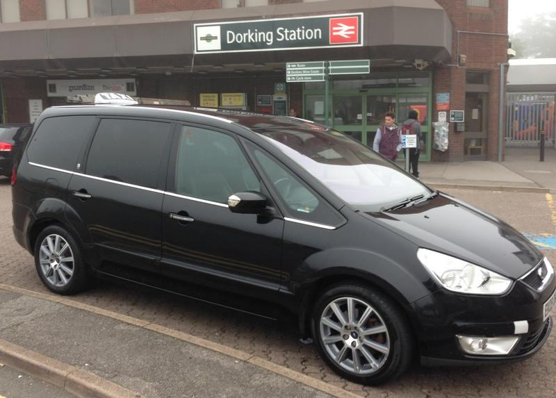 dorking taxis a-2-b ford galaxy
