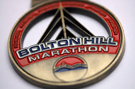 bolton hill marathon finisher medal