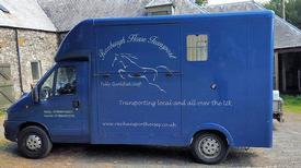 horse transport Horse box hire scotland
