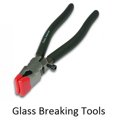 Bohle glass breaking pliers