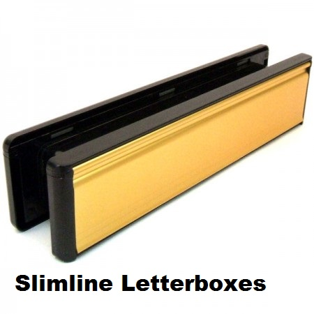 Replacement simline UPVC Letterboxes