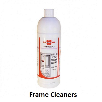 upvc frame cleaners,