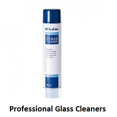 professional glass cleaner, bohle glass cleaner, wurth active glass cleaner